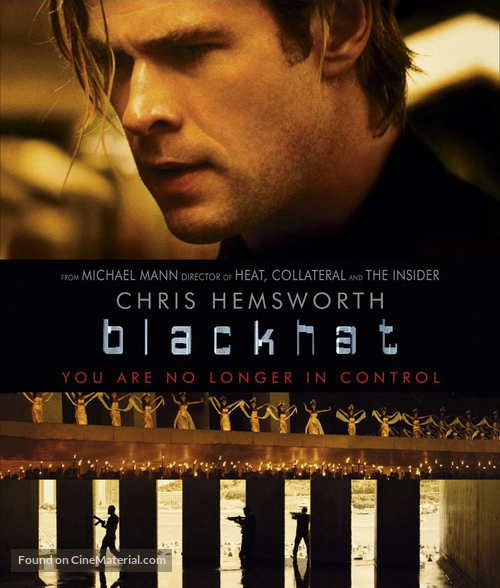 Blackhat - Blu-Ray movie cover