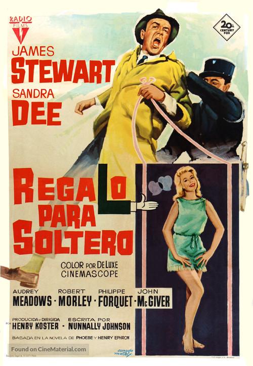Take Her, She's Mine - Spanish Movie Poster