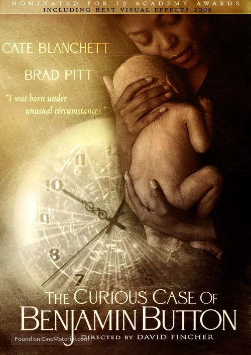 The Curious Case Of Benjamin Button 2008 Movie Cover