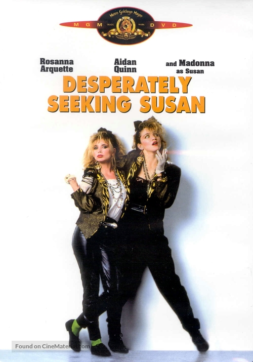 Desperately Seeking Susan - DVD movie cover