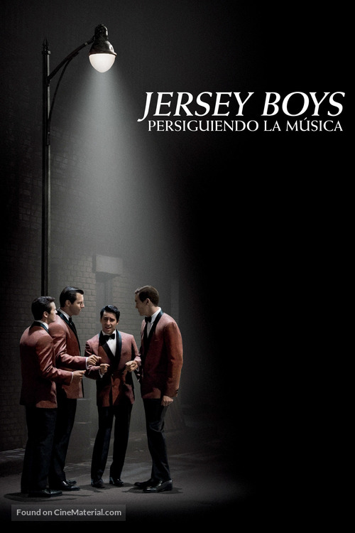 Jersey Boys - Argentinian DVD movie cover