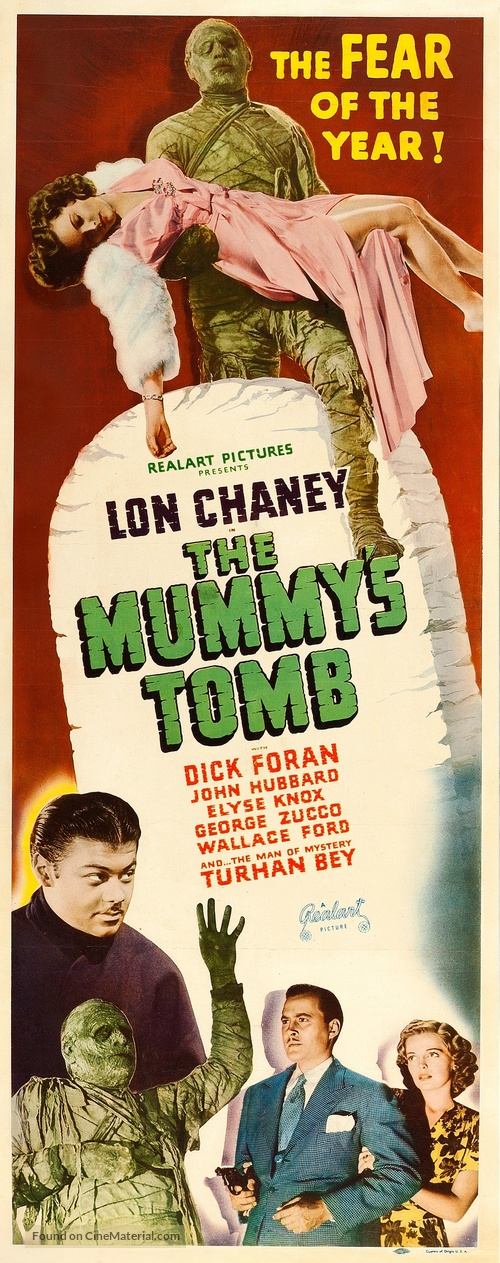 The Mummy's Tomb - Movie Poster
