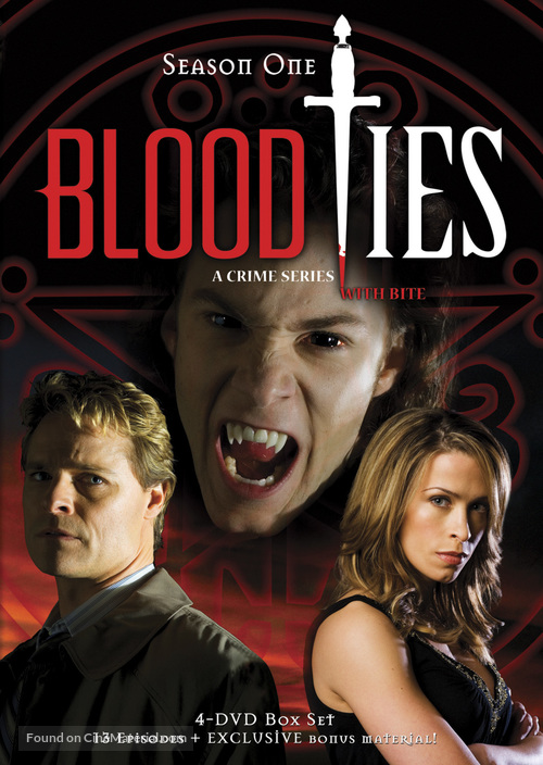"""Blood Ties"" - DVD movie cover"