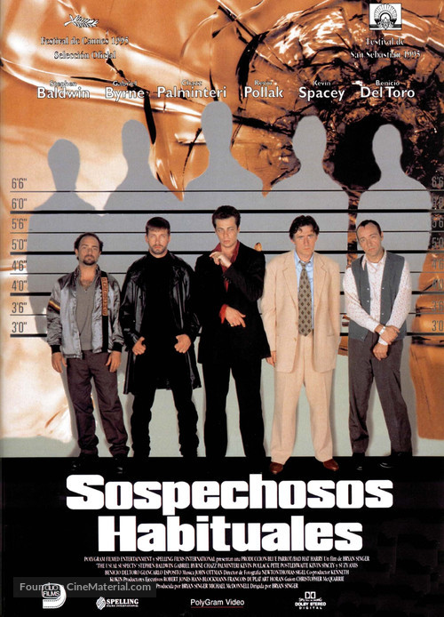 The Usual Suspects - Spanish Movie Poster