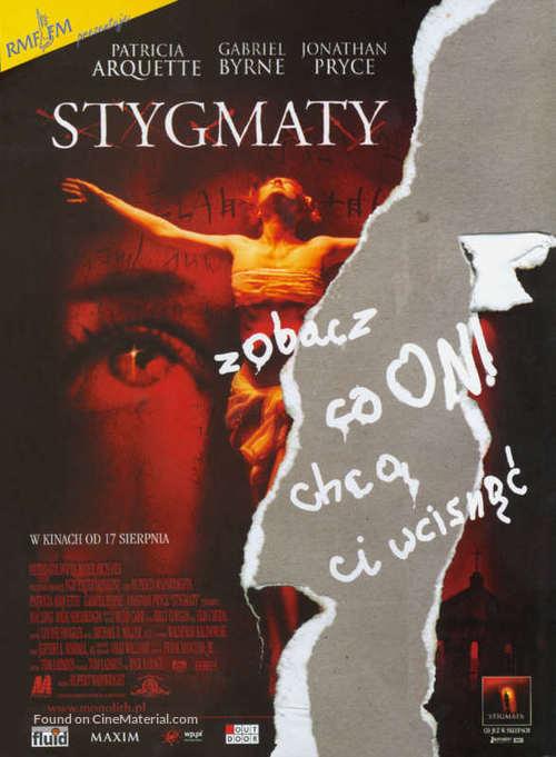 Stigmata - Polish Movie Poster