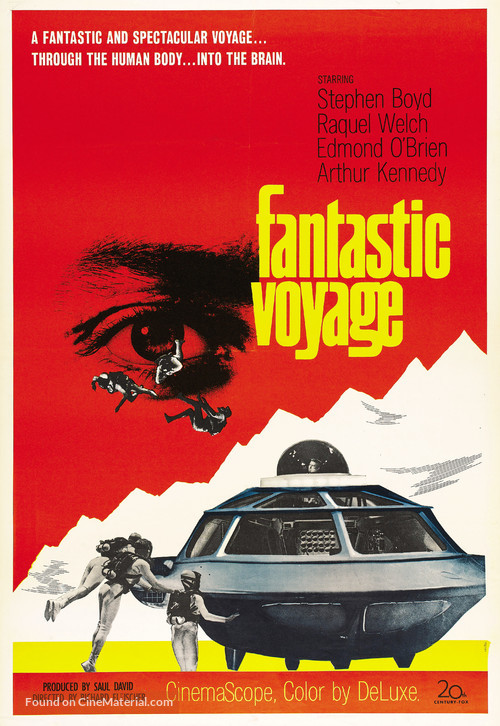 Fantastic Voyage - Theatrical movie poster