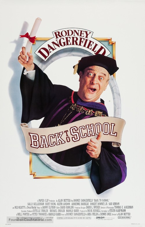 Back to School - Movie Poster