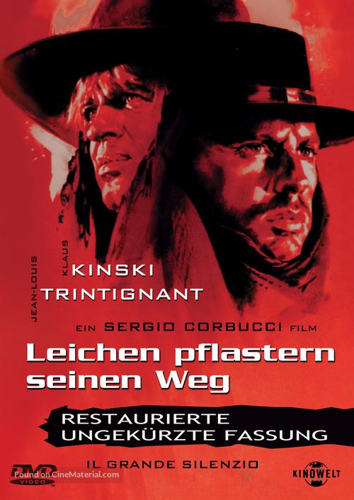 Il grande silenzio - German DVD movie cover
