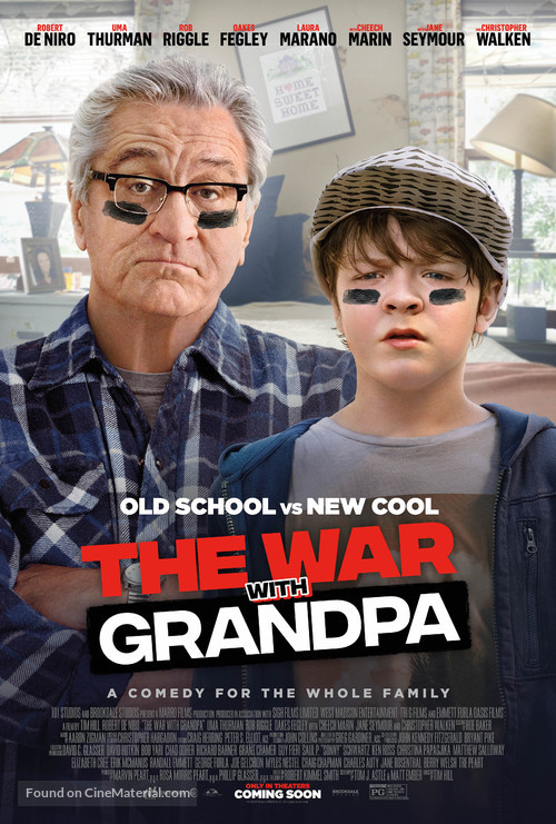 The War with Grandpa - Movie Poster