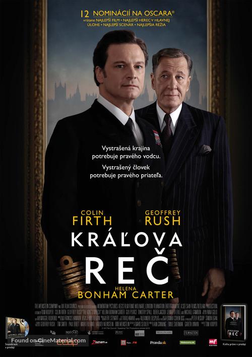 The King's Speech - Slovak Movie Poster