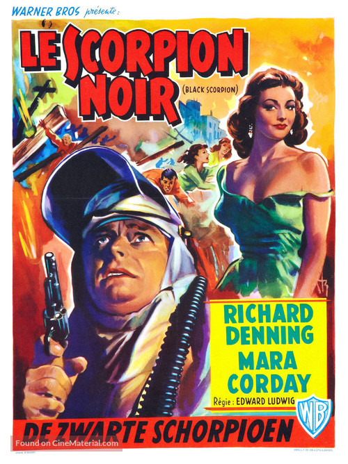 The Black Scorpion - Belgian Movie Poster