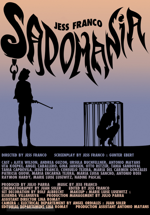 Sadomania - Hölle der Lust - Movie Poster