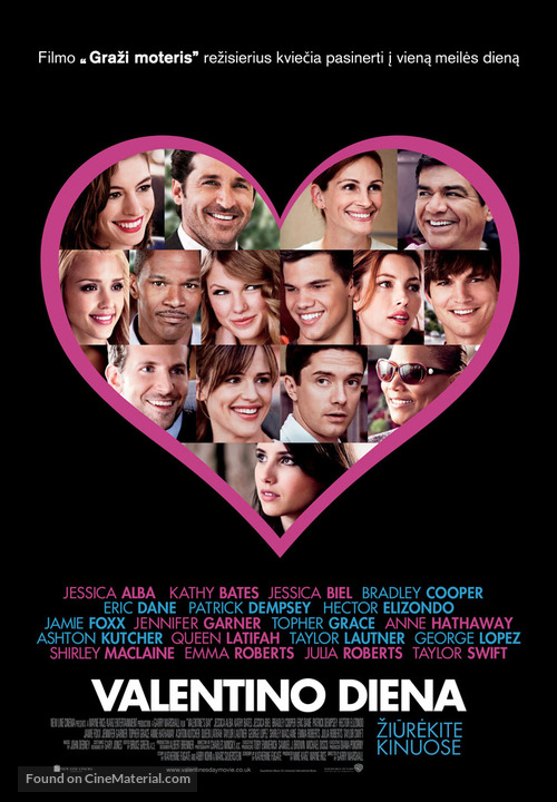 Valentine's Day - Lithuanian Movie Poster