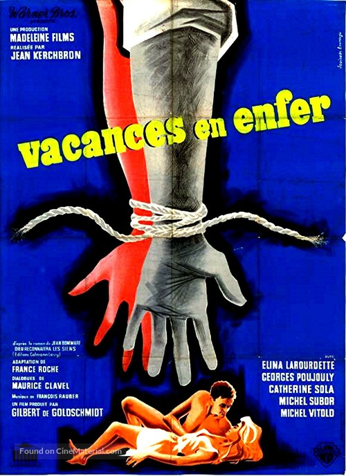 Vacances en enfer - French Movie Poster
