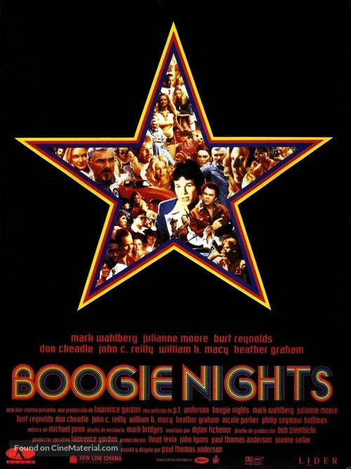 Boogie Nights - Spanish Movie Poster