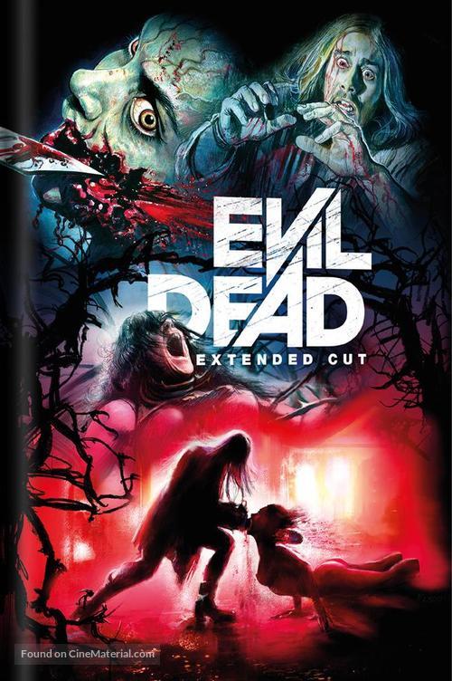 Evil Dead - German Blu-Ray movie cover