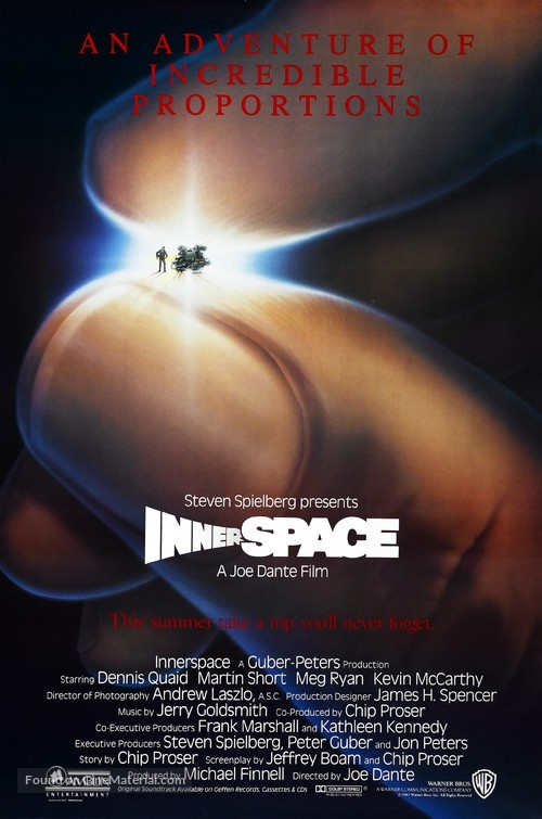 Innerspace - Advance movie poster
