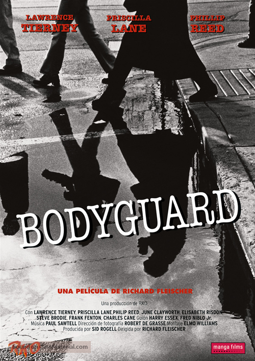 Bodyguard - Spanish DVD movie cover