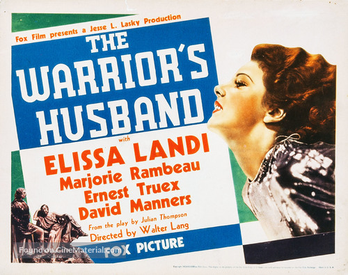 The Warrior's Husband - Movie Poster