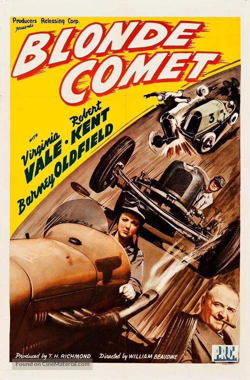 Blonde Comet - Movie Poster
