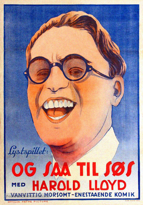 A Sailor-Made Man - Norwegian Movie Poster