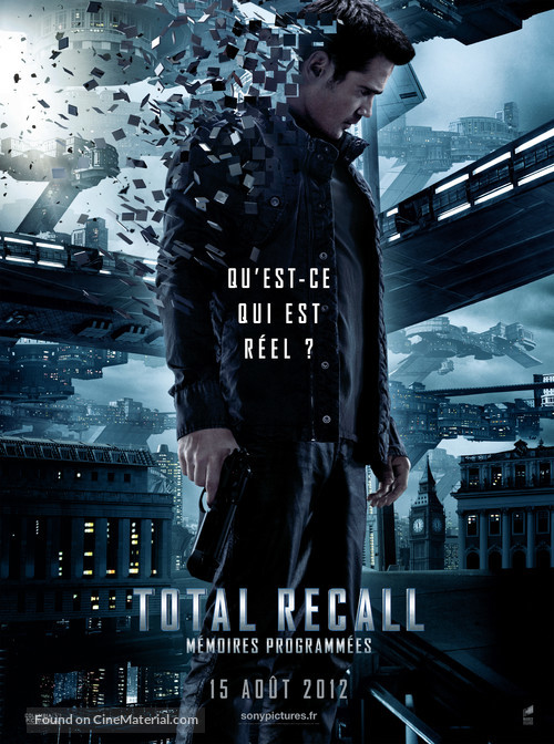 Total Recall - French Movie Poster