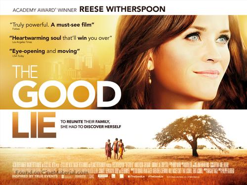 The Good Lie - British Movie Poster