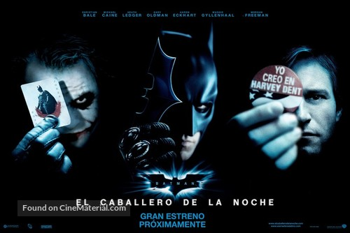 The Dark Knight - Mexican Movie Poster