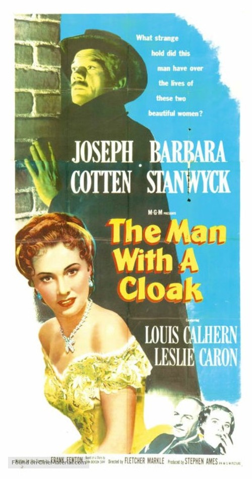 The Man with a Cloak - Movie Poster