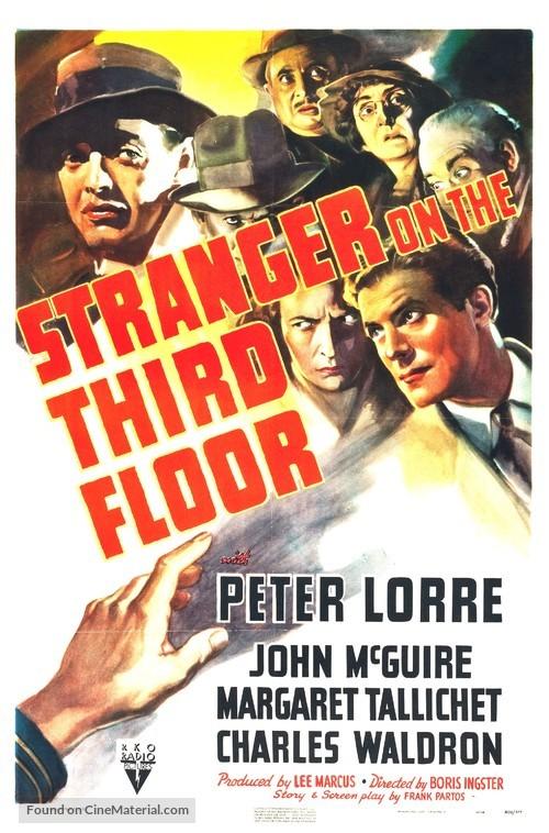 Stranger on the Third Floor - Movie Poster