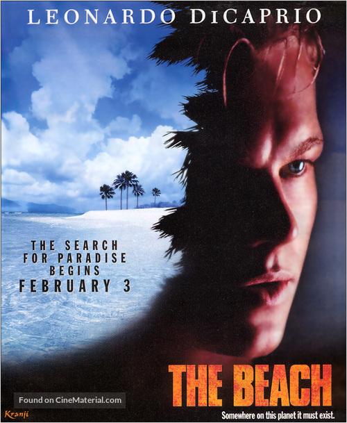 "/""The Beach/"" ..Leonardo DiCaprio ..Classic Movie Poster Various Sizes"