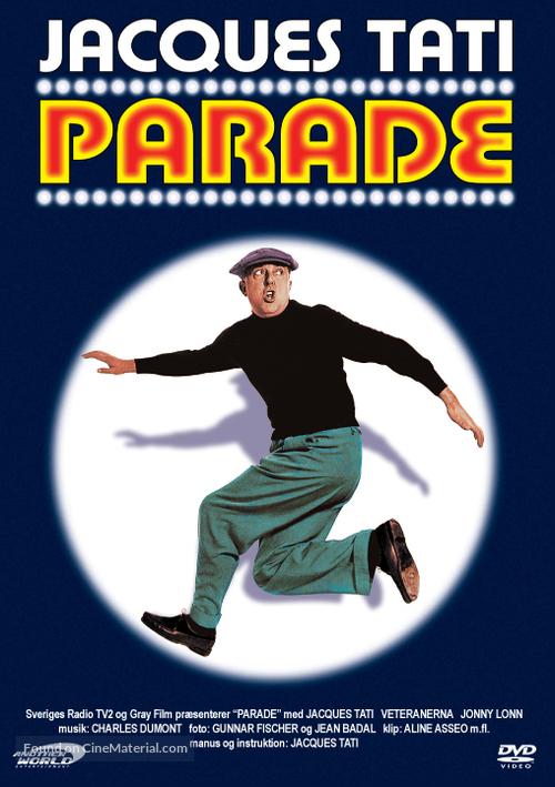 Parade - Swedish Movie Cover