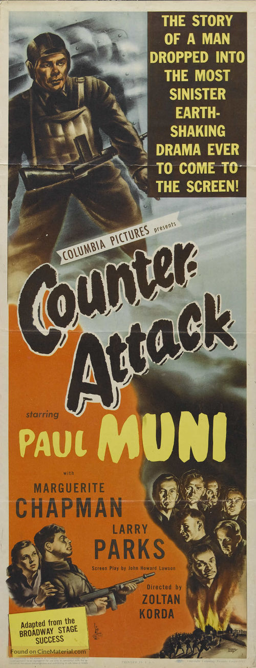 Counter-Attack - Movie Poster