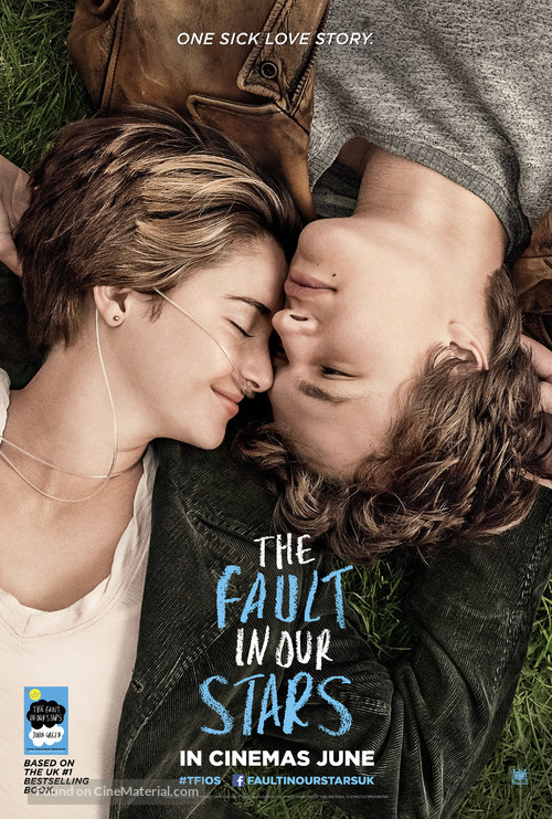 The Fault in Our Stars - British Movie Poster