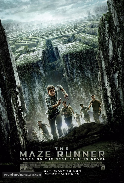 The Maze Runner - Theatrical movie poster