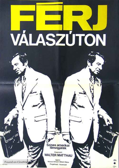 A New Leaf - Hungarian Movie Poster