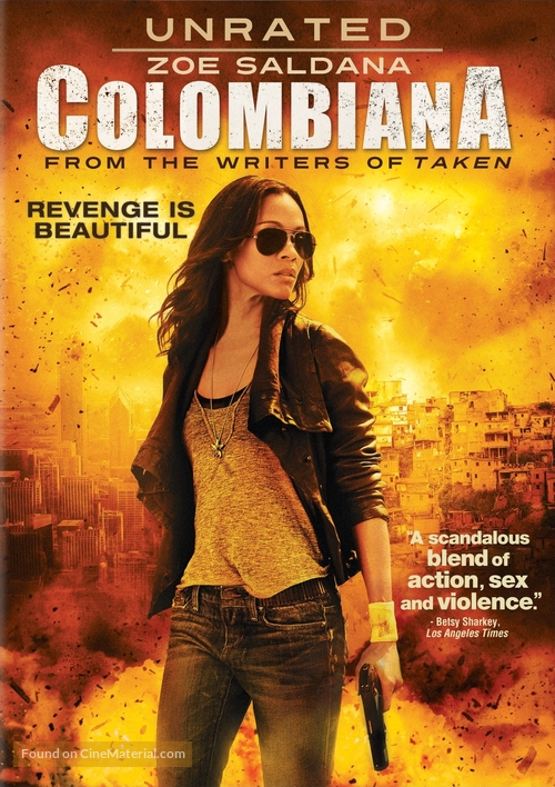 Colombiana - DVD movie cover