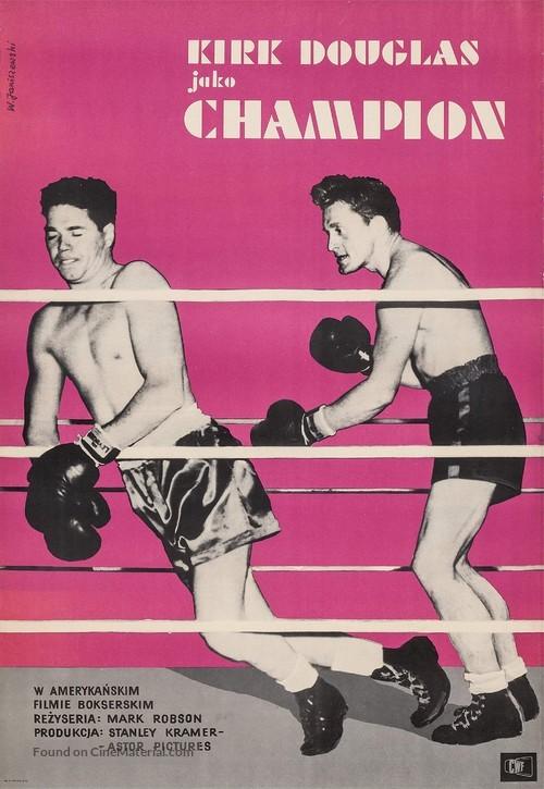 Champion - Polish Movie Poster