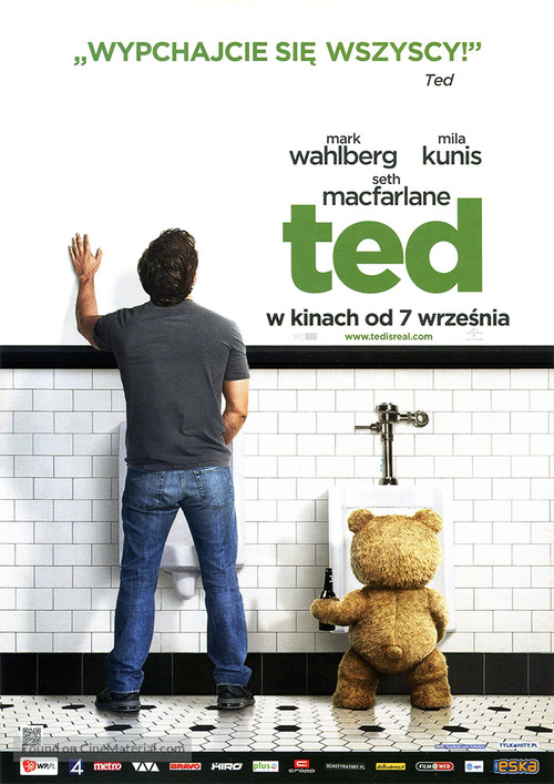Ted - Polish Movie Poster