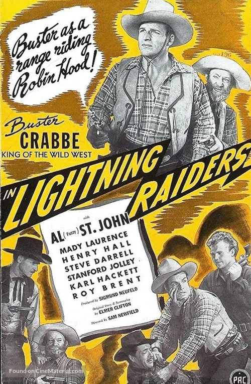 Lightning Raiders - Movie Poster