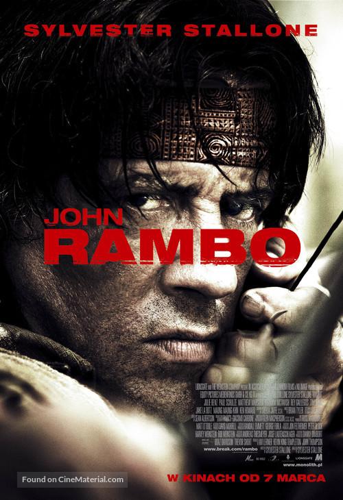 Rambo - Polish Movie Poster