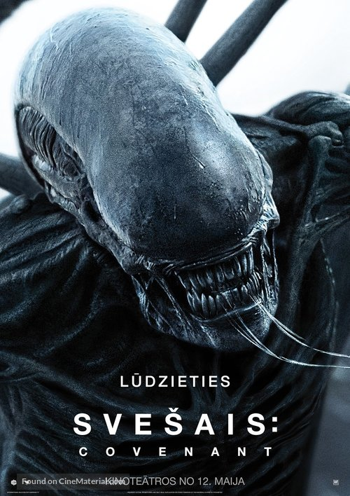Alien: Covenant - Latvian Movie Poster