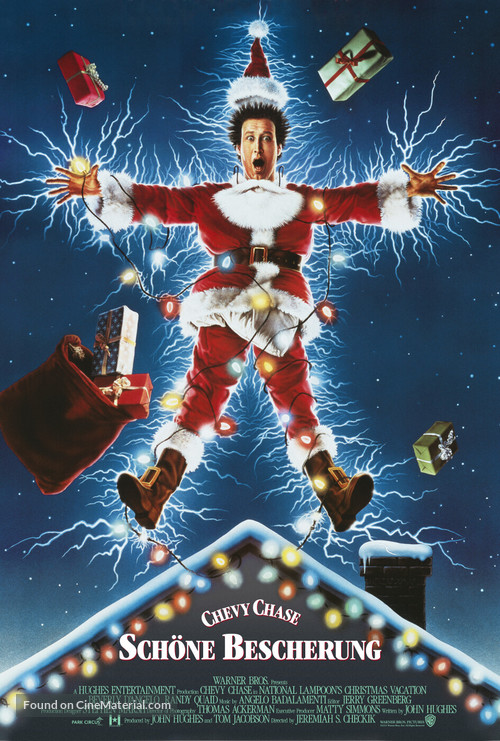 Christmas Vacation - German Movie Poster