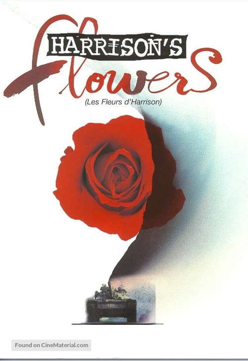 Harrison's Flowers - French poster