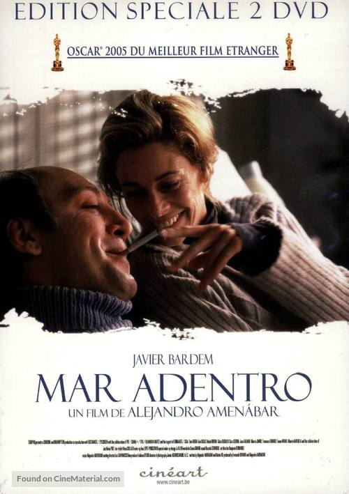 Mar adentro - Belgian DVD movie cover