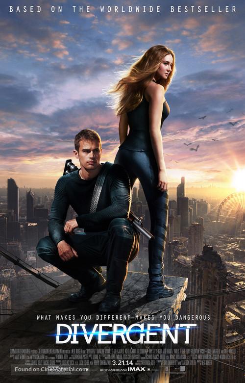 Divergent - Movie Poster