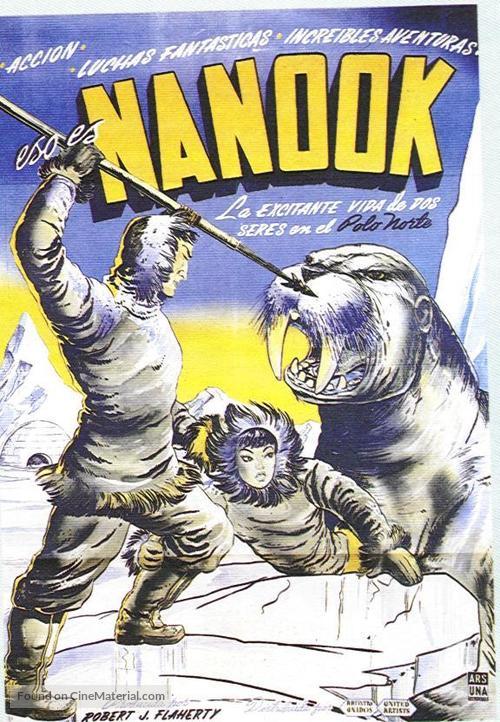 Nanook of the North - Spanish Movie Poster