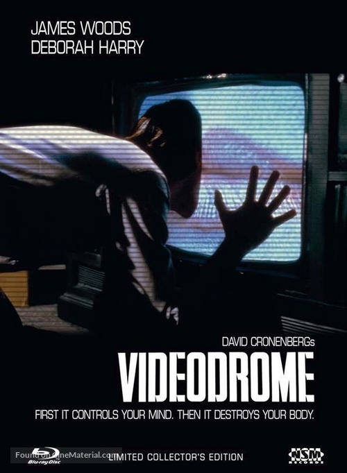 Videodrome - Austrian Blu-Ray movie cover