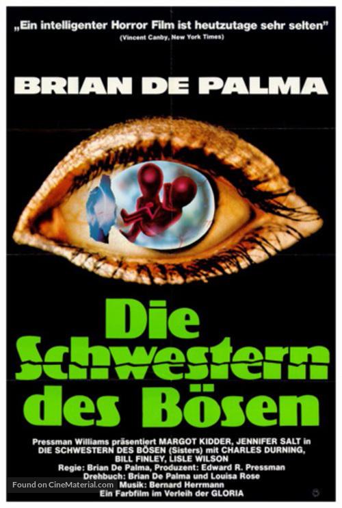 Sisters - German Movie Poster