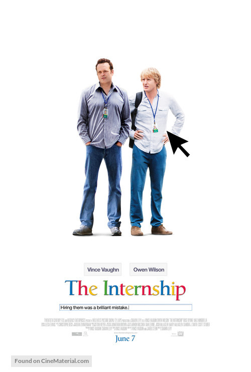 The Internship - Movie Poster